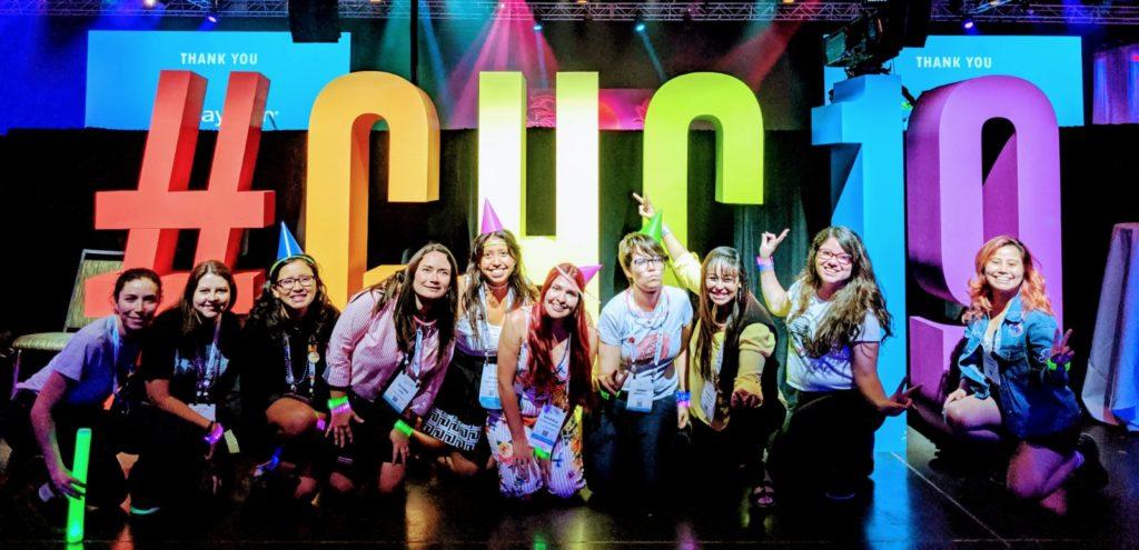 Latinas in Computing at GHC19 Party